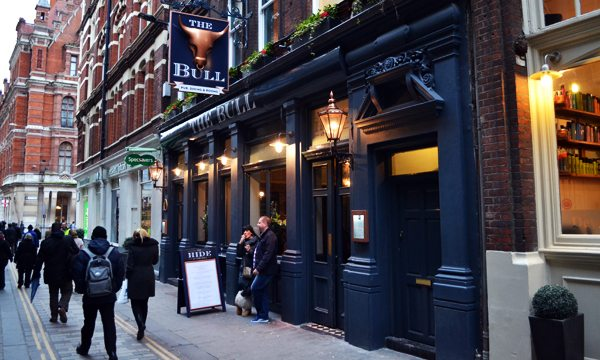 Top 10 Bars & Pubs around Liverpool Street, London - The Bull