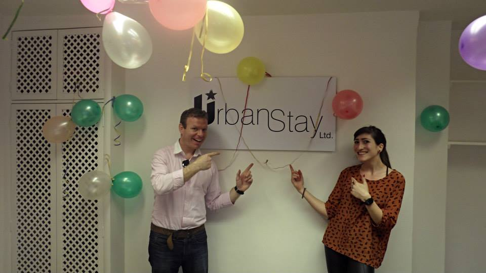 Urban Stay's new serviced apartment office at Liverpool Street Station
