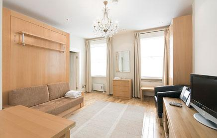17-Hertford-Street-Serviced-Apartments-Mayfair-London---living-room|-Urban-Stay