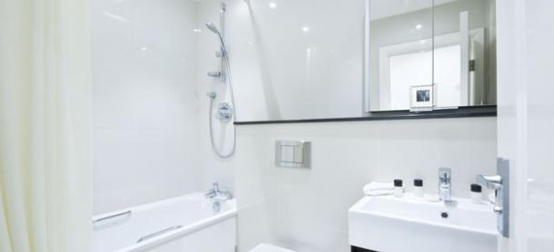 Ashburn Court South Kensington Serviced Apartments London - Bathroom | Urban Stay