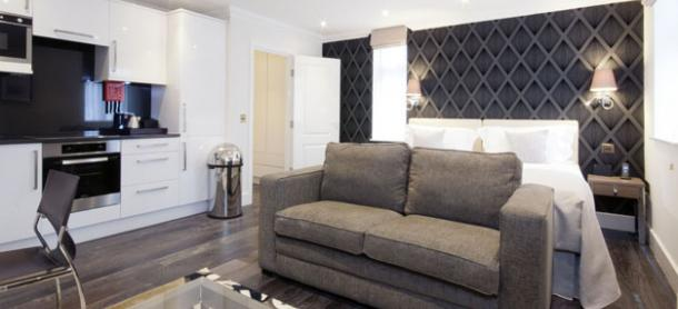 Ashburn Court South Kensington Serviced Apartments London - Living Room| Urban Stay