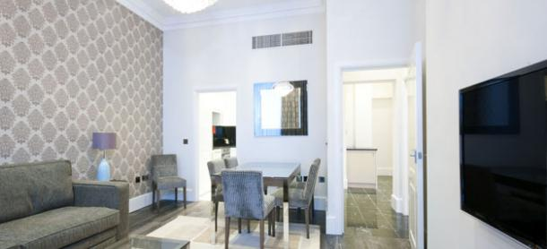 Ashburn Court South Kensington Serviced Apartments London - Dining Area | Urban Stay