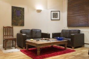 Corporate accommodation Liverpool Street London - Living Area spacious