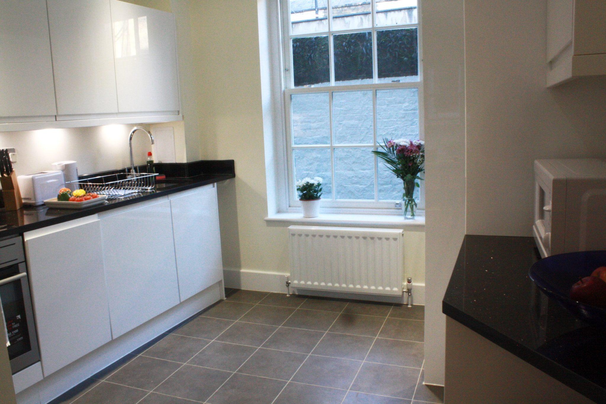 Liverpool Street Serviced Accommodation Artillery Lane Apartments Modern Kitchen