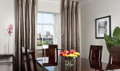 Luxury-Accommodation-South-Kensington---130-Queens-Gate-Apartments-Dining-Area
