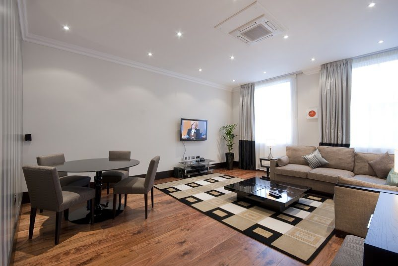Luxury-Accommodation-South-Kensington---130-Queens-Gate-Apartments-Living-Room-4