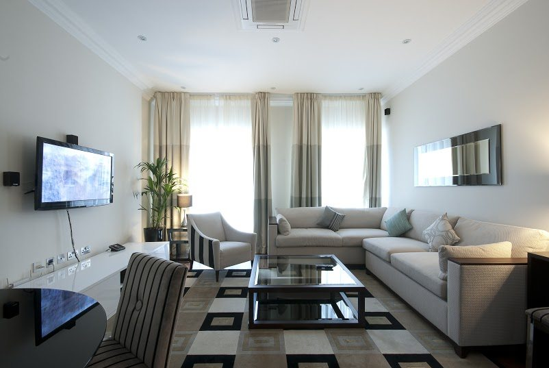 Luxury-Accommodation-South-Kensington---130-Queens-Gate-Apartments-Living-Room-5