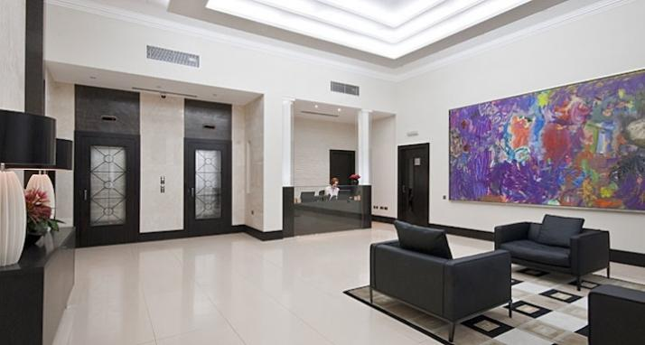 Luxury-Accommodation-South-Kensington---130-Queens-Gate-Apartments-Lobby-2