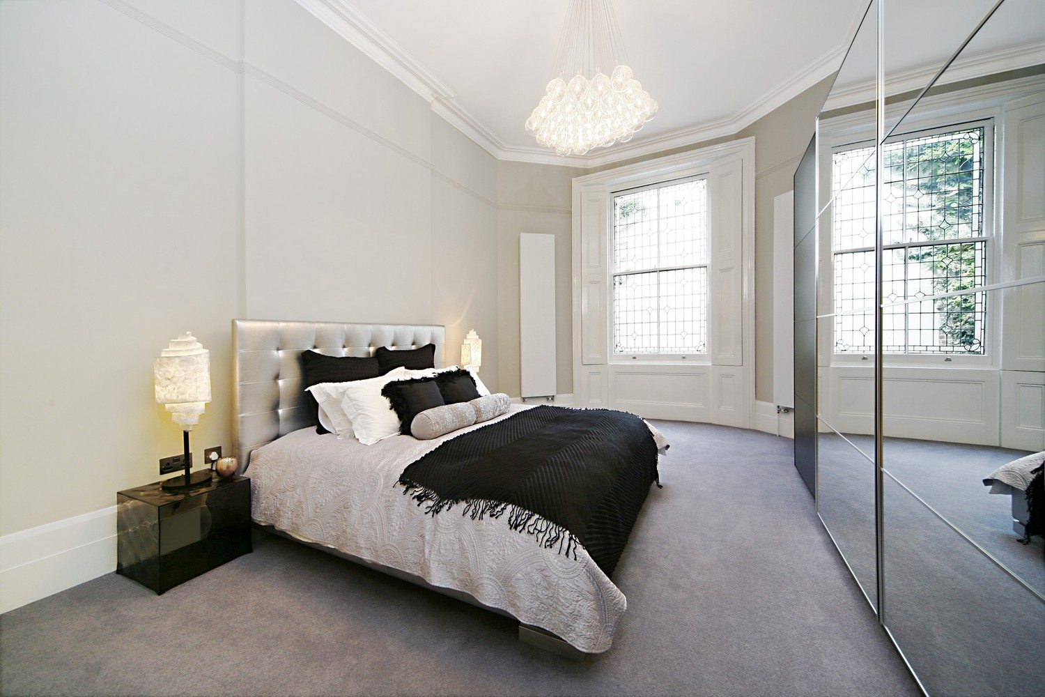 Luxury-Apartments-South-Kensington---King-Size-Bedroom-Shor-stays-London