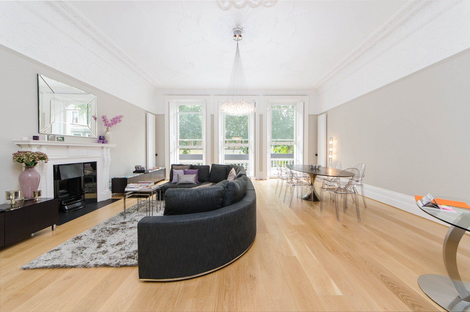 Luxury-Apartments-South-Kensington---Southwell-Gardens-Apartments-Living-Room