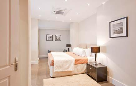 Short-Stay-Apartments-Mayfair-London---Urban-Stay-corporate-accommodation---Bedroom-4