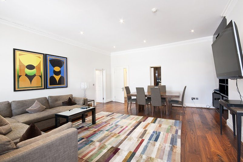 Short Stay Apartments Mayfair London - Urban Stay corporate accommodation - Living Room 2