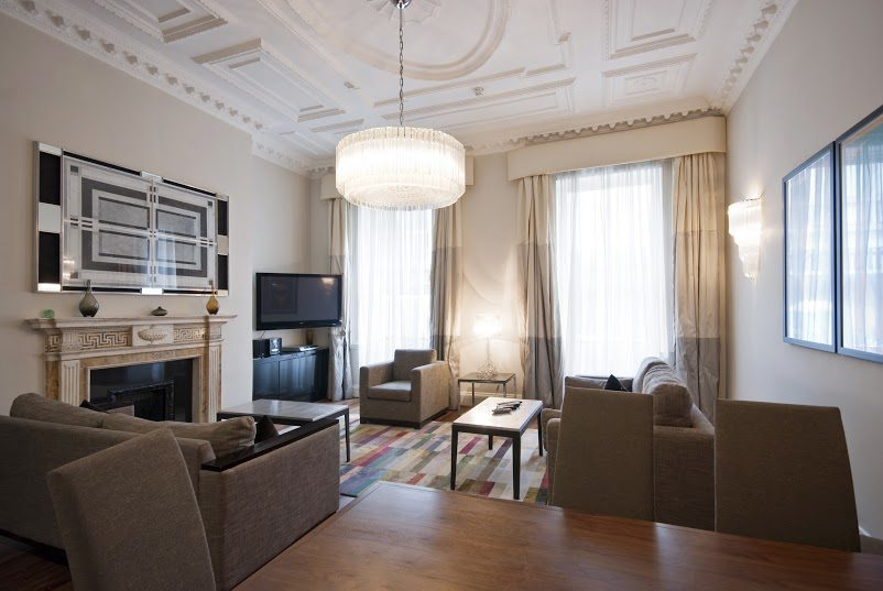 Short Stay Apartments Mayfair London   Urban Stay Corporate Accommodation    Living Room