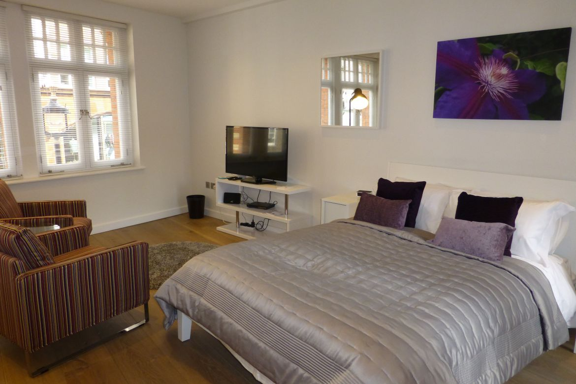 Bedroom Rose Street Serviced Apartments Covent Garden - Central London
