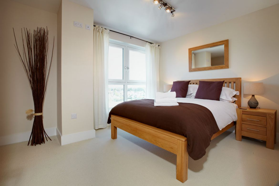 Bedroom-in-Skyline-Plaza-Apartments---Basingstoke-Serviced-Apartments,-UK