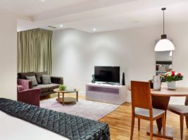 Harrington Court Apartments South Kensington - Urban Stay Luxury Accommodation Central London - living room 4