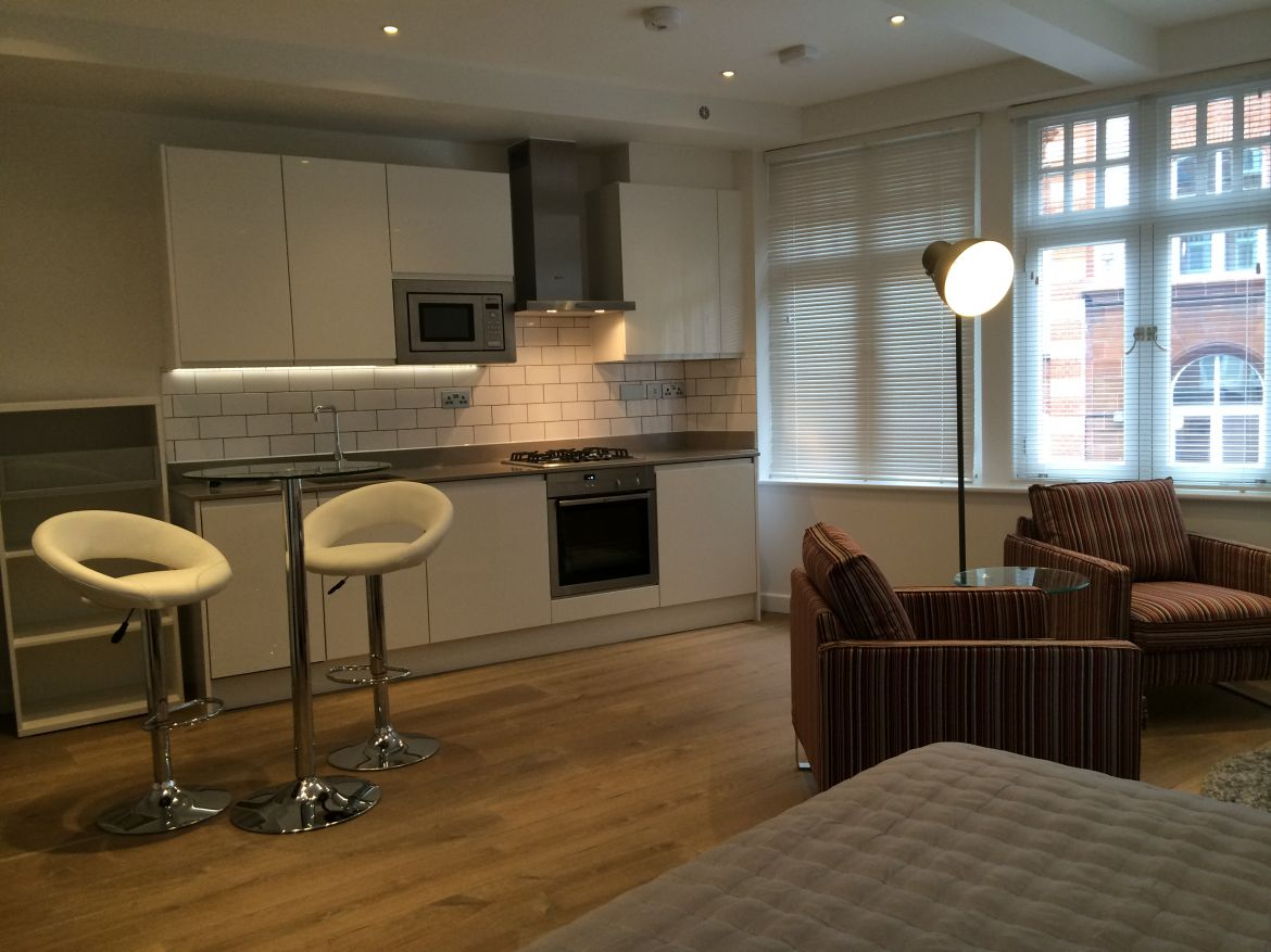 Kitchen Rose Street Serviced Apartments Covent Garden - Central London