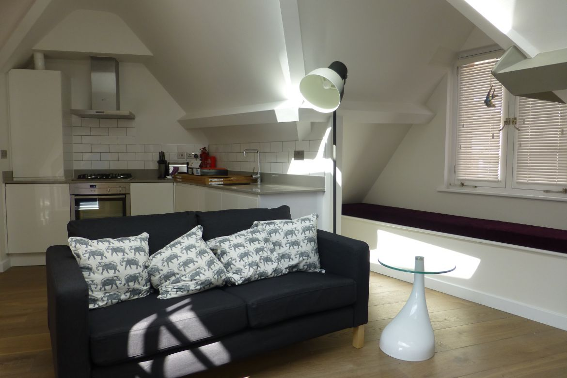 Loft Kitchen at Rose Street Serviced Apartments Covent Garden - Central London