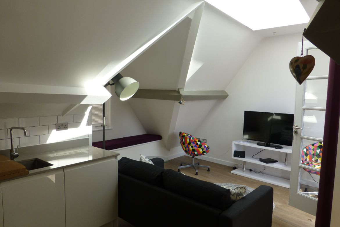 Living Room Rose Street Serviced Apartments Covent Garden - Central London