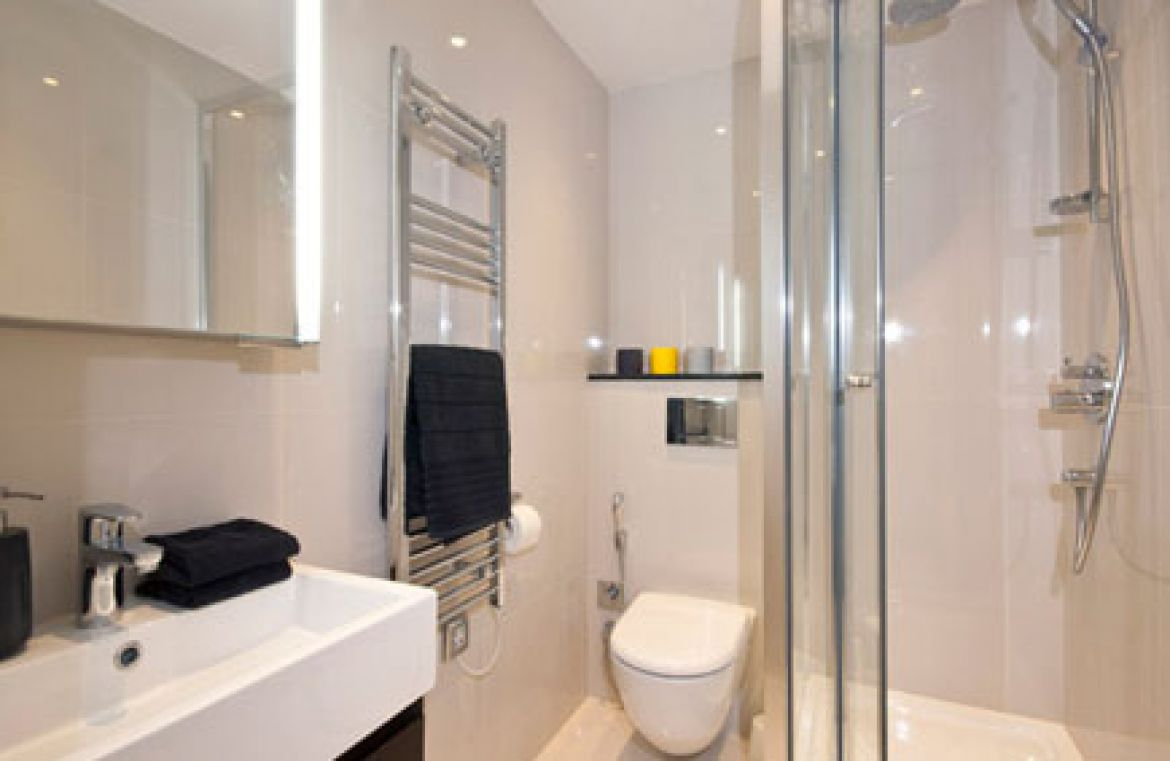 Manson Place Short Stay Apartments South Kensington - Serviced Accommodation London - bathroom 2