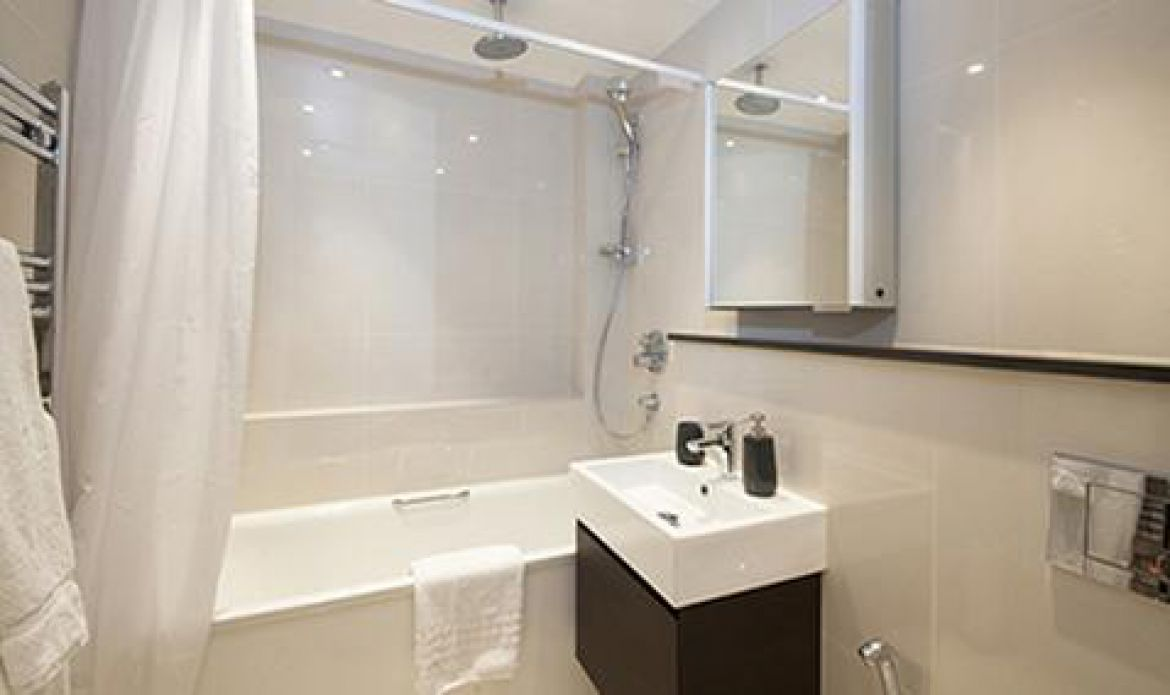 Manson Place Short Stay Apartments South Kensington - Serviced Accommodation London - bathroom