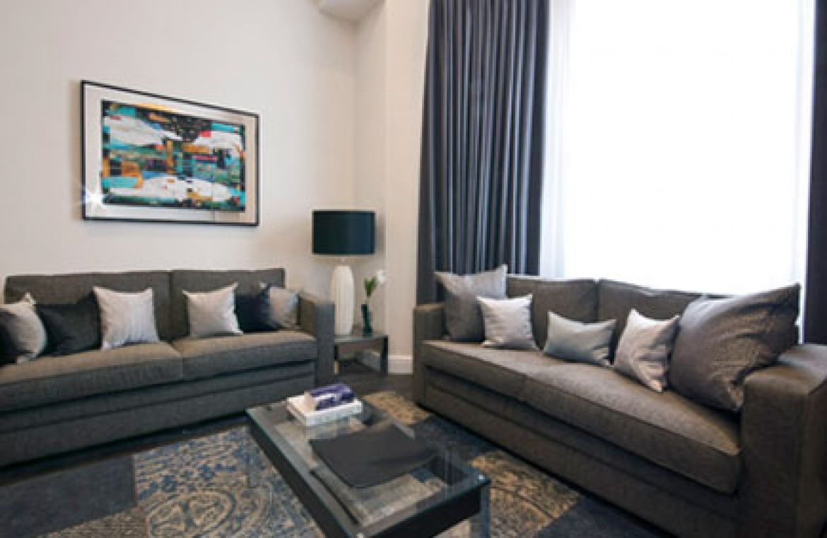 Manson Place Short Stay Apartments South Kensington - Serviced Accommodation London - living room 2