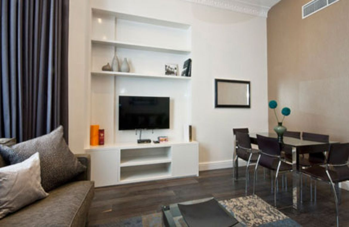 Manson Place Short Stay Apartments South Kensington - Serviced Accommodation London - living room 3