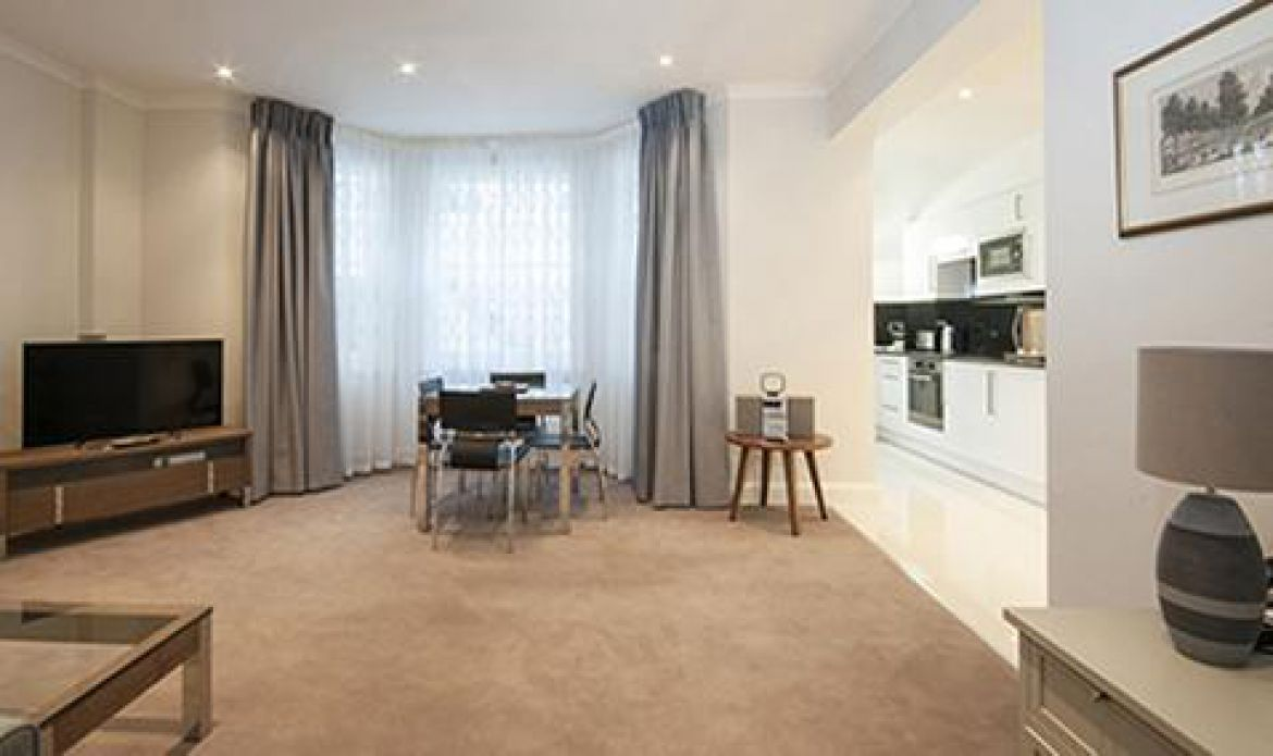 Manson Place Short Stay Apartments South Kensington - Serviced Accommodation London - living room 4