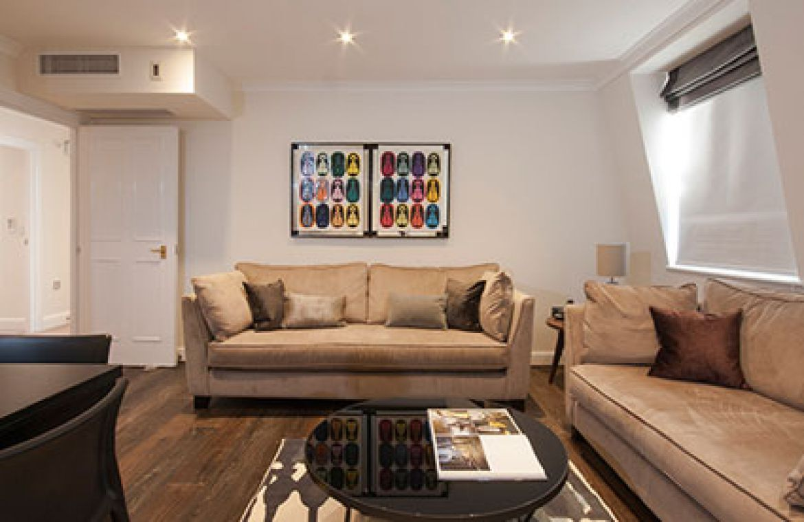 Manson Place Short Stay Apartments South Kensington - Serviced Accommodation London - living room 5