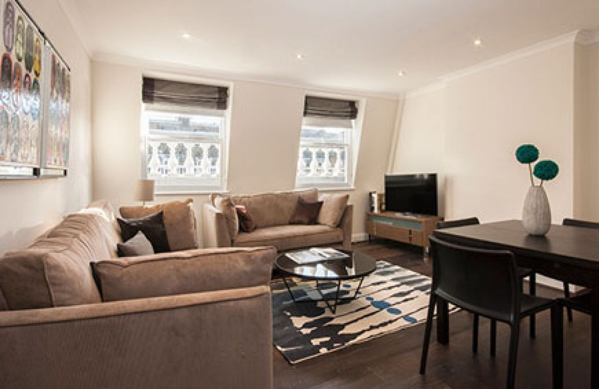 Manson Place Short Stay Apartments South Kensington - Serviced Accommodation London - living room 6
