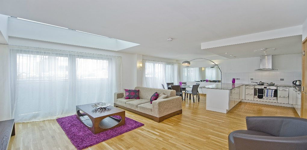 Saffron-Heights-Clerkenwell-Serviced-Apartments-London-Urban-Stay---Living-Room