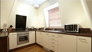 Serviced Apartments Bournemouth - Kitchen 2 in Exchange Buildings Apartments - Urban Stay