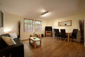 Serviced Apartments Bournemouth - Living Room in Exchange Buildings Apartments - Urban Stay