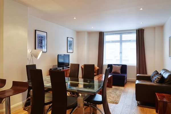 Vauxhall-Serviced-Apartments-South-London-Urban-Stay---Open-Plan-Living-Room