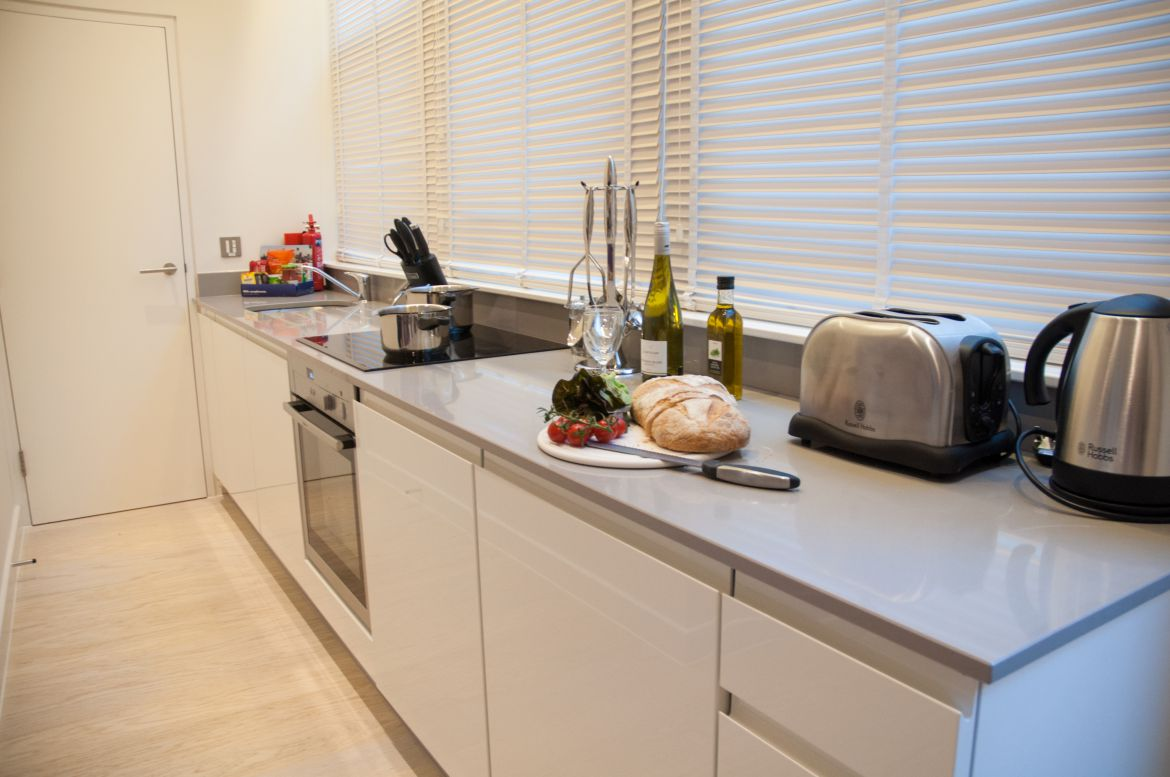 Kitchen-at-West-Street-Serviced-Apartments-Covent-Garden,-London-|-Urban-Stay