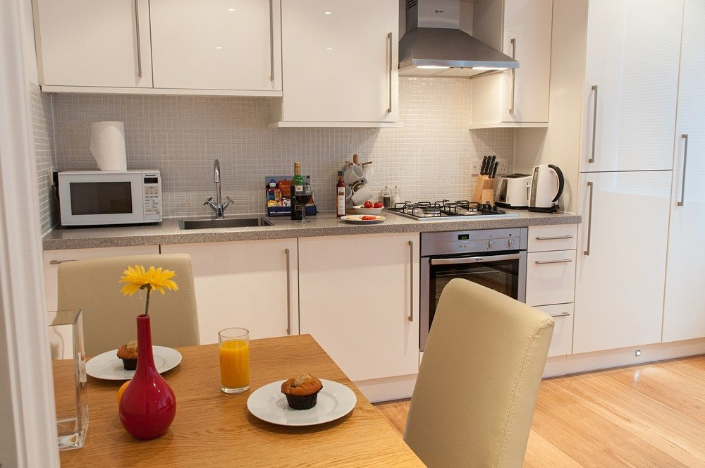 Dining-Area-at-Savage-Gardens-Serviced-Apartments-Tower-Hill,-London-City