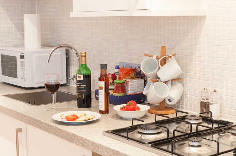 Kitchen-at-Savage-Gardens-Serviced-Apartments-Tower-Hill,-London-City