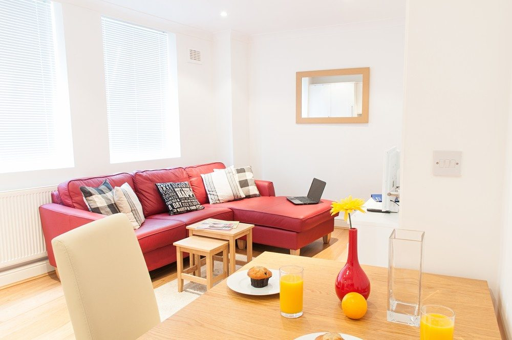 Living-Room-at-Savage-Gardens-Serviced-Apartments-Tower-Hill,-London-City