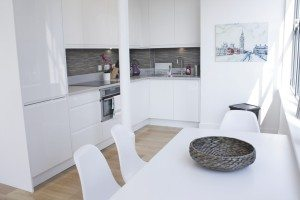 Shard View Apartments Monument - The City of London - two bedroom kitchen