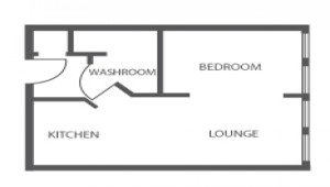 City Wall House Serviced Apartments Reading - Floorplan | Urban Stay
