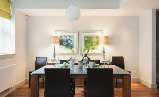 Marylebone Serviced Apartments Central London dining area Urban Stay