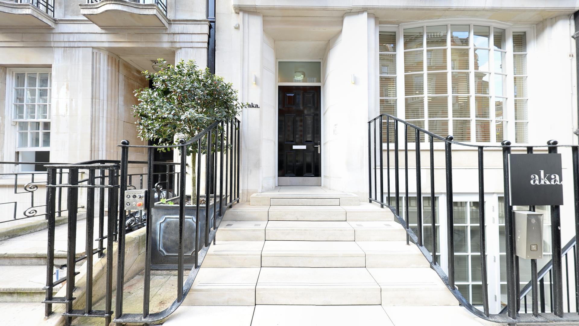 Marylebone Serviced Apartments Central London exterior entrance Urban Stay
