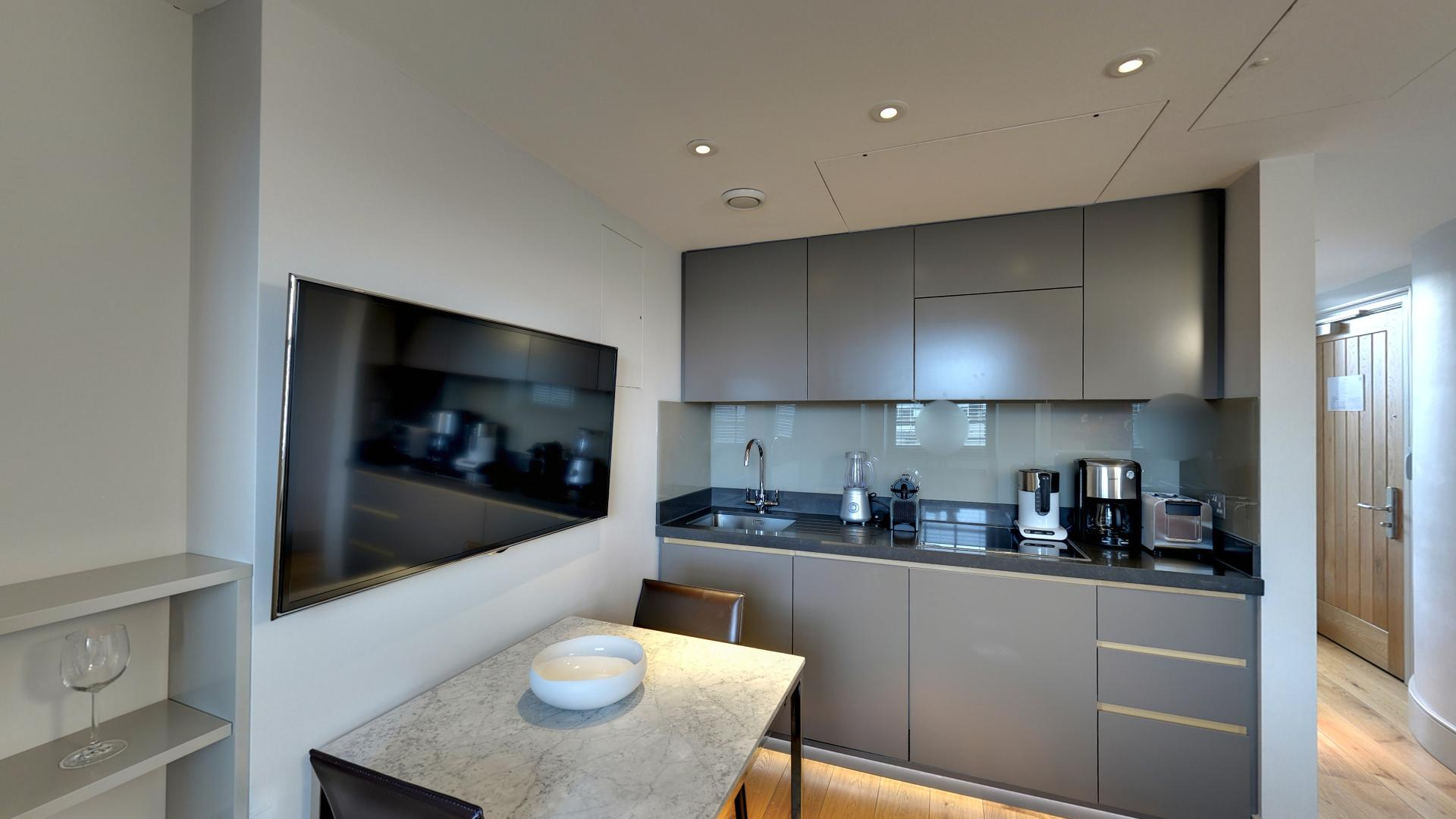 Marylebone Serviced Apartments Central London kitchen Urban Stay