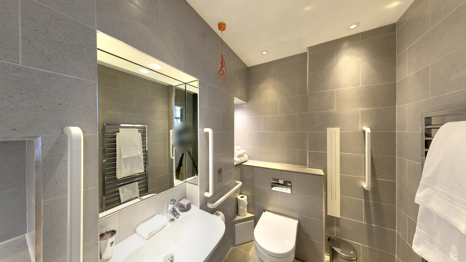 Marylebone Serviced Apartments Central London luxury bathroom Urban Stay