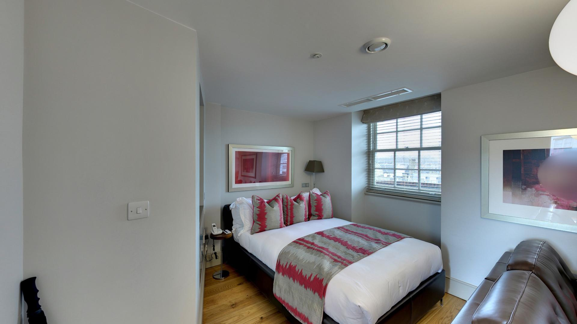 Marylebone Serviced Apartments Central London luxury bedroom Urban Stay