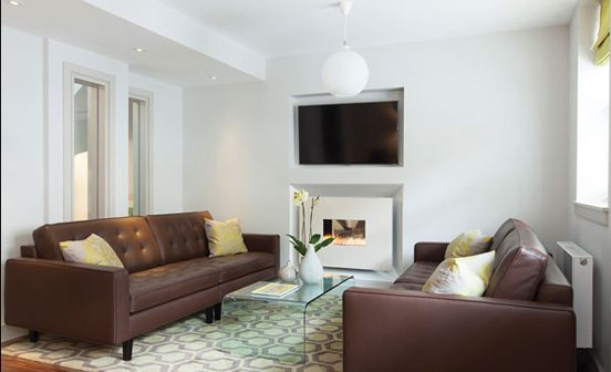 Marylebone Serviced Apartments Central London luxury living room Urban Stay