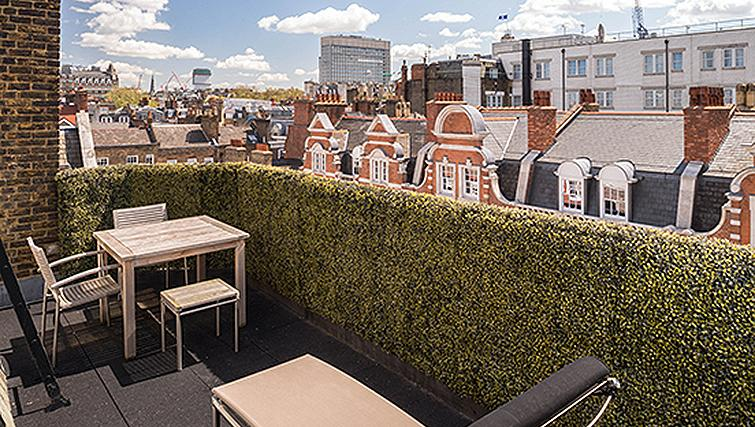 Marylebone Serviced Apartments Central London private terrace Urban Stay