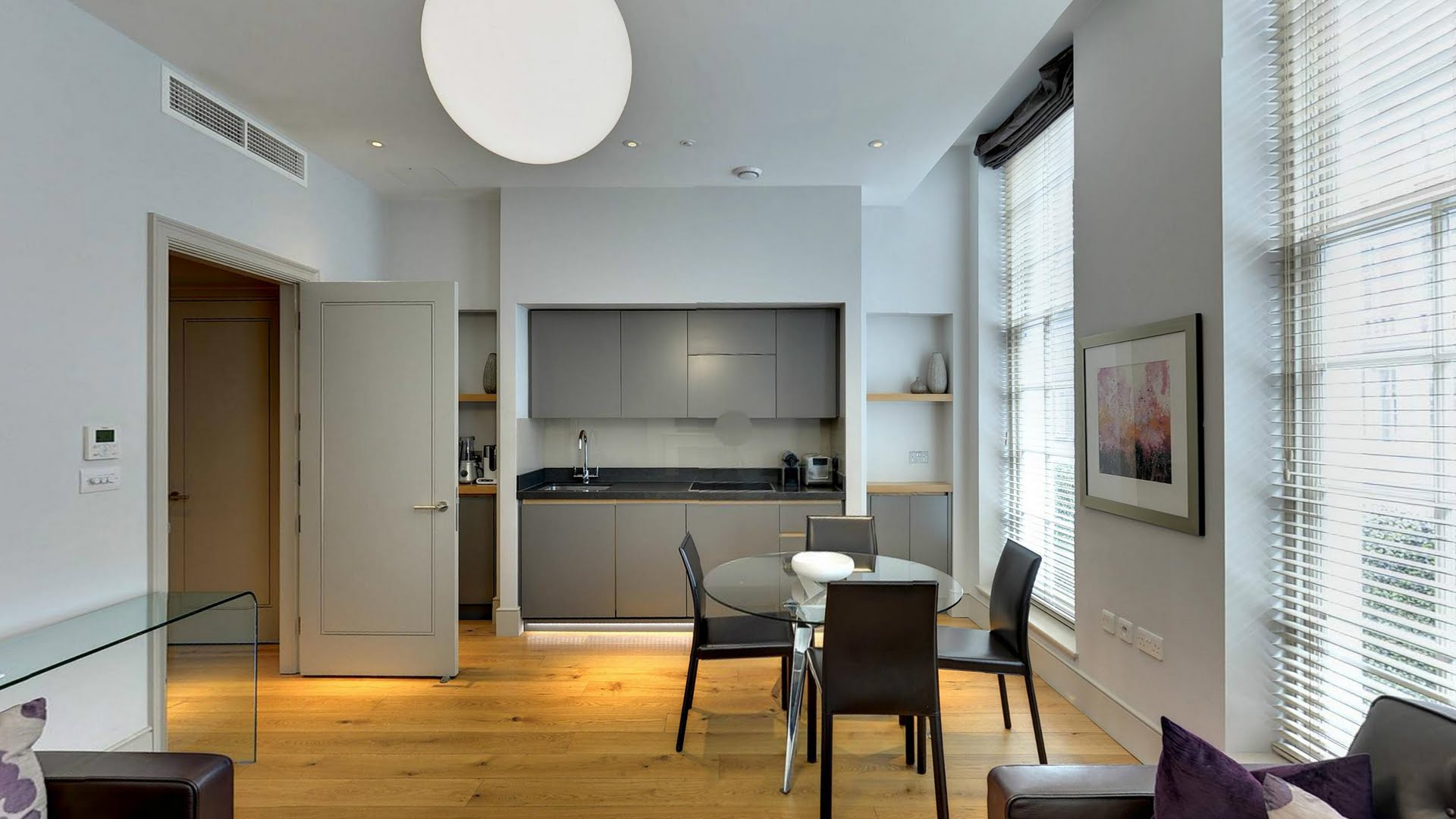 Marylebone-Serviced-Apartments-Central-London---self-catering-kitchen-Urban-Stay