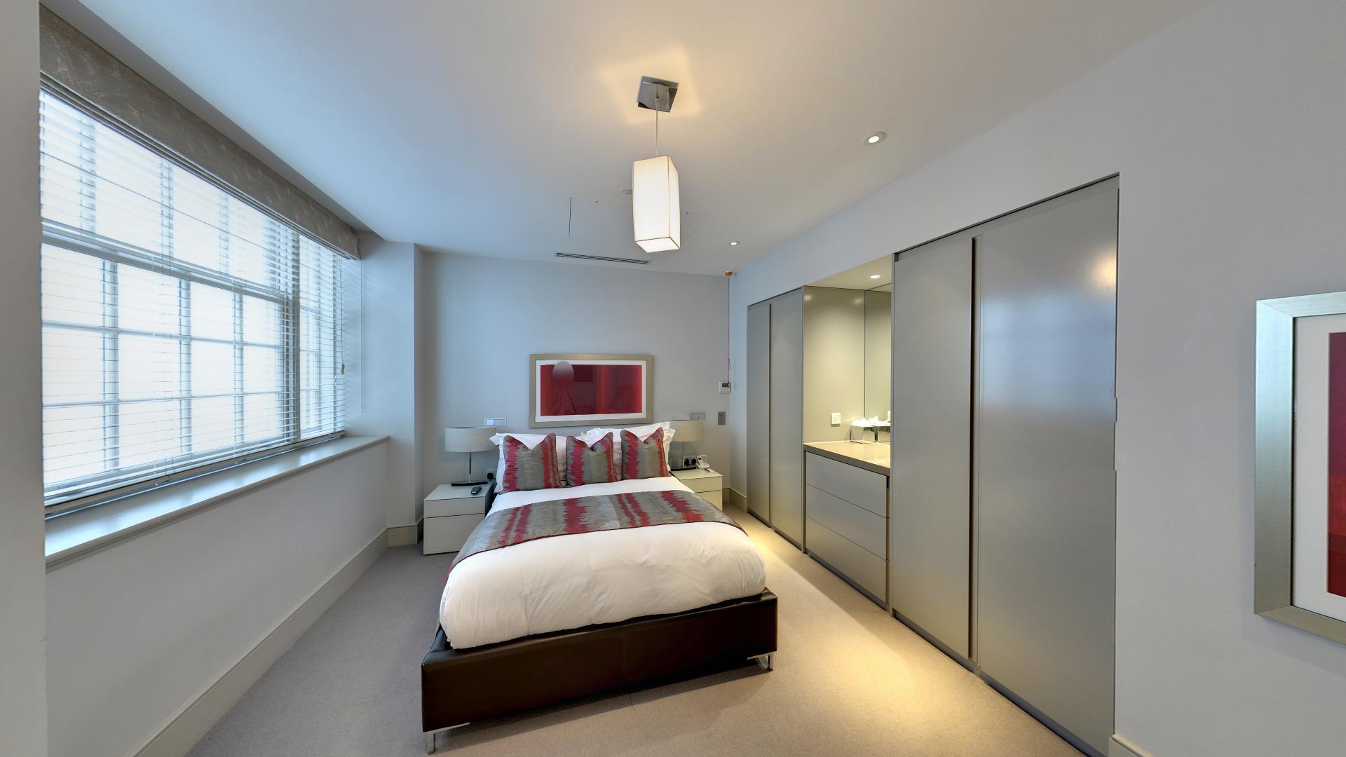 Marylebone Serviced Apartments Central London spacious bedroom Urban Stay