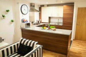 Serviced Accommodation Liverpool Street - Steward Street Apartments Open Plan Kitchen